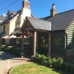 The newly renovated Hundred House Inn & Gurmet Pie Kitchen in Bleddfa