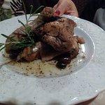 pollo e coniglio all'etrusca