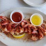 Peel and eat shrimp appetizer