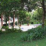 Jardines del Edificio de Capacitaciones