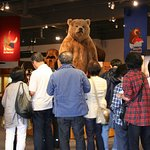 Otto Bear is a popular photo op for our visitors.