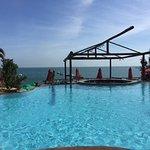 Clube de Praia la Plage, é o acesso do hotel à praia
