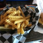 Best fries I've ever tasted, and I hate crinkle cut fries normally!