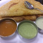 khali dosa: rice and lentil pancake