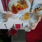 Sehr leckeres Frühstück und Zimmer zum wohlfühlen
