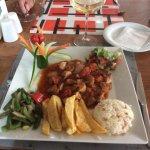 Lamb Desti Kebab ( served in Clay Pot broken open at table ) Delicious !