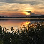 Sonnenuntergang am Hopfensee!