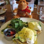 eggs Benedict (with our Canada 150 Moose)