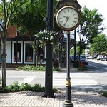 Clock at corner Fairhope Ave and Section St. But double check me!!!