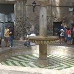 Placa Sant Felip Neri fountain