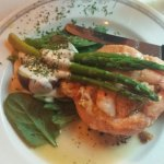 Seafood Stuffed Salmon