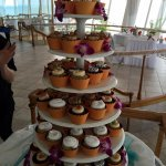 Cupcake tower for wedding