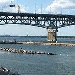 View of bridge from Riverwalk