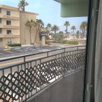 View from room, toward beach