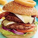 Hearty Brie&Bacon Burger