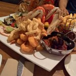 A scrumptious seafood tower!
