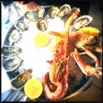 Oysters and seafood platters