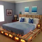 Our Famous Handmade Kingsize Pallet Bed!!
