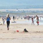 Nothing like a good jog on Portstewart Beach!!