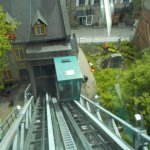 The funicular to get there