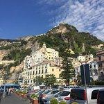 Quaint town along the coastline