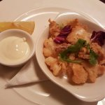 calamari starter portion at gusto (£7.25)