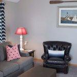 Nautical Cottage Living area