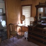 Lovely antique furnishings of one of the suites