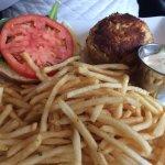 Crab Cake & Fries