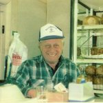 My dad, Ruby Cohen original owner of Cohen/s Bakery