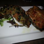 Stuffed Oyster and Oyster Rockefeller