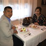 Went to Fogo to Chao for our 9th wedding anniversary dinner. We had a great time, great experien