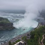 Part of Niagara Falls From the Skylon Tower