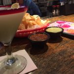 Good special margarita ($12.00), chips&salsa..would go back for only this.