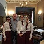 Staff on my last day at Breakfast