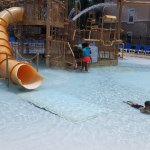 """Great """"free"""" splash pad with slides great for the kiddos"""