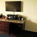 TV, Microwave, and Refridgerator