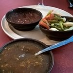 Salsa and gardineria like side with chips