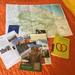 Maps, brochures, and information provided by Raffaella