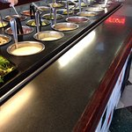 Buffet and salad bar(included).