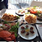 2 of the 2 person hot and cold seafood platters