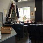 the bar at Chez Joel
