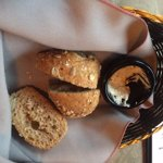 Bread basket to start, Kalvas Restaurant , 180 Moilliet St, Parksville, British Columbia