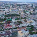 """Смотровая площадка бизнес центра """"Высоцкий"""""""