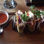 Pulled Chicken tacos, so very good! Chop Steakhouse & Bar 1750 Sargent Ave | Sandman Hotel & Sui