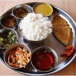 king fish goan thali