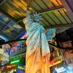 Statue of Liberty on Indoor Theme Park