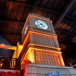 Clock Tower on Indoor Theme Park