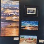 Art on display and for sale at Sandbar Cafe , 6087 Island Hwy W, Qualicum Beach, British Columbi