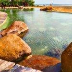 Vintage design swimming pool